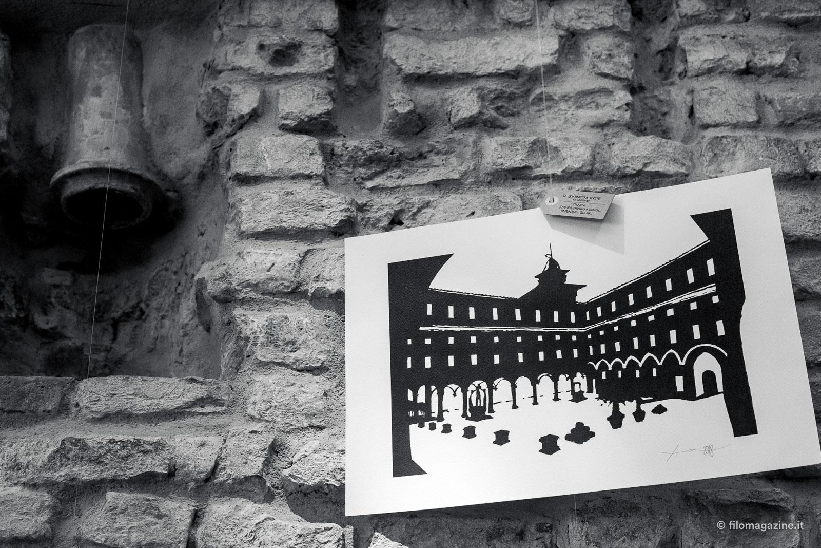 Ferrara in bianco e nero negli sketch di Fernando Adriao – FILO Magazine cd49448397c7
